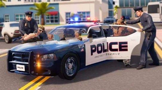 虚拟警官犯罪城