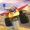 越野卡车飞行冲刺游戏