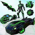蝙蝠机器人变形卡车