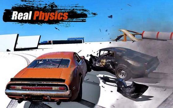 汽车碰撞毁灭