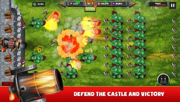 城堡防御怪物防御者
